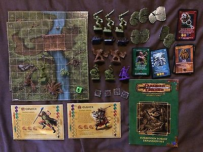 Dungeons & Dragons Forbidden Forest board game WOTC Hasbro Parker D&D