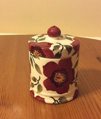 Emma Bridgewater  Christmas Rose Lidded Scented Candle New Boxed First Quality