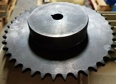 "40B42 Sprocket #40 Chain  42 Tooth  5/8""  Bore With Key Way"