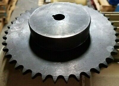 "Sprocket #40 Chain 42 Tooth  5/8""  Bore With Key Way"