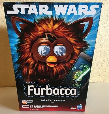 Star Wars The Force Awakens Furbacca Chewbacca Furby - New And Sealed