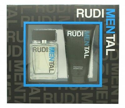 Rudimental Blue Pour Homme Gift Set 100Ml Edt + 150Ml Shower Gel - Men's. New