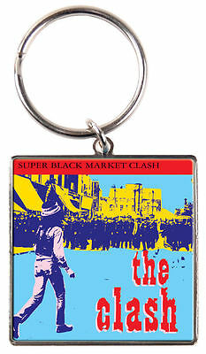 The Clash 'super Black Market Quality Metal Keyring - New Official Merchandise
