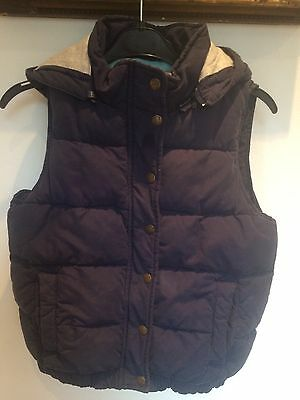 Johnnie Boden Girls Navy Blue  Body Warmer Can
