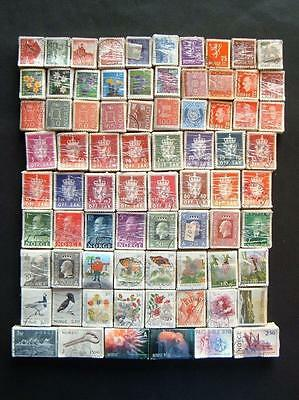 Norway Collection of 75 different bundles. Total 7500 stamps.
