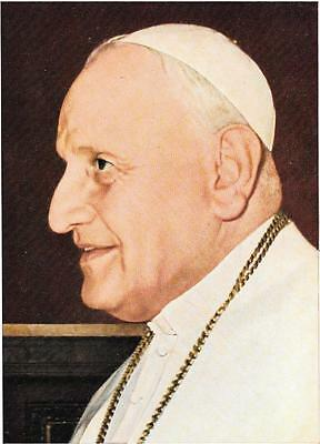 The Pope (Unnamed), Coloured Postcard.