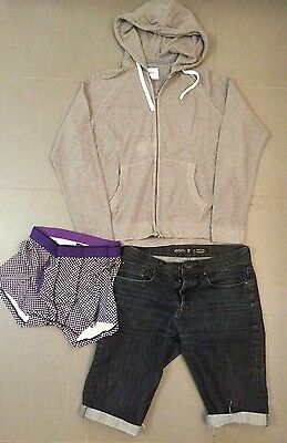 Scally Lad mixed clothing lot - size large - shorts / hoody