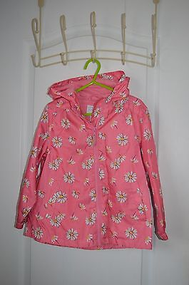 NEXT girls rain jacket aged 4-5