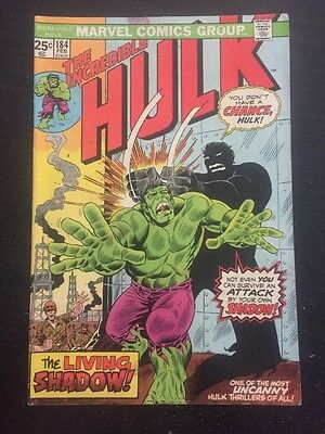 Incredible Hulk#184 Awesome Condition 6.5(1975) Trimpe Art!! Cool!