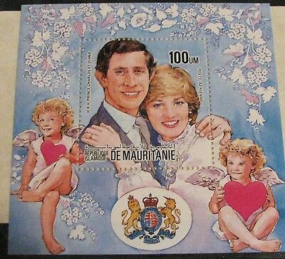 L@@K! Princess Di International stamps with certificates mint lot of 13 items