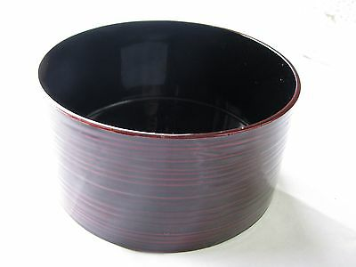 Japanese Tea Ceremony, Vintage Kensui (Slop Basin) Tamenuri, Beautiful Piece