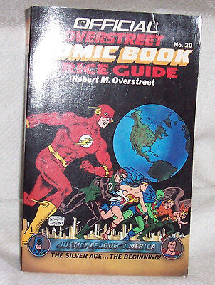 OVERSTREET COMIC BOOK PRICE GUIDE No 20 VF/NM SC 1990 The Flash