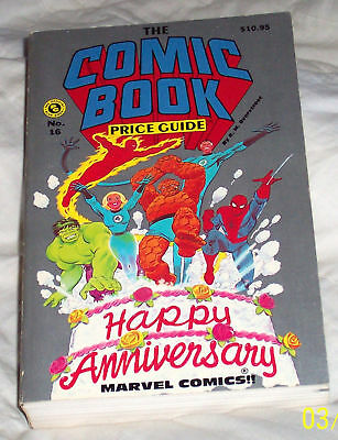 OVERSTREET COMIC BOOK PRICE GUIDE #16 Very Fine SC 1986 25th Anniversary