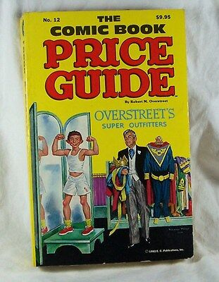 OVERSTREET COMIC BOOK PRICE GUIDE 12 F/VF 1982 Soft Cover Mad EC Alfred Newman N