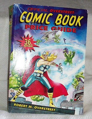 OVERSTREET COMIC BOOK PRICE GUIDE No 36 VF+ Soft Cover 2006 THOR! R