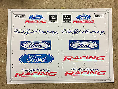 1:18 SCALE HIGH QUALITY FORD MOTOR COMPANY 8ftX2ft WALL BANNERS X10 A4 SIZE