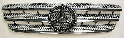 Genuine Mercedes Ml M Class Amg W163 2008-2005 Front Grill & Badge A1638800985