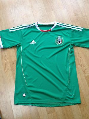 Mexico Home Football Shirt (M) Soccer Jersey Adidas