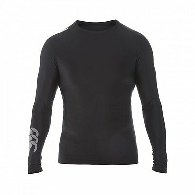 Canterbury Mercury TCR Control Compression Baselayer  LARGE  Black  New.