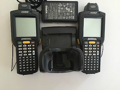 LOT OF 2 Motorola MC3070-RG0NACU00WW Handheld Mobile Barcode Scanner -PDA CE 6.0