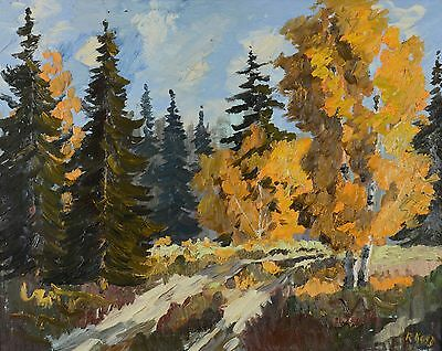 "Robert Kost 1936-2003 24x30"" Original Oil Painting Impressonist Canadian"