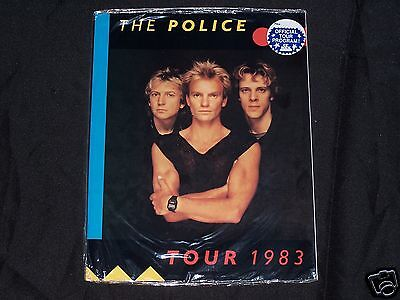 THE POLICE 1983 Synchronicity Tour Book Concert Program SEALED MINT