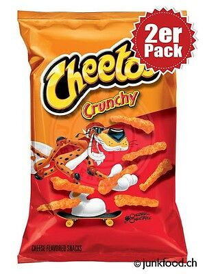2er Pack Cheetos Crunchy Cheese Snacks (2x241g)