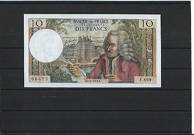 France - Fay 62/63 - 10 Francs Voltaire - 02/08/1973 - Alphabet F899 - Neuf