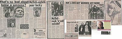 RALPH McTELL : CUTTINGS COLLECTION
