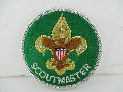 Vintage Scoutmaster Boy Scouts Patch