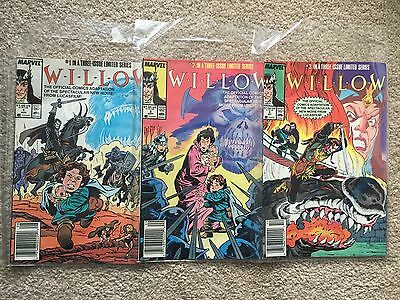 Willow complete Limited series #1 , 2 , 3