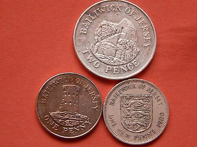 3 X British Pence Coins...