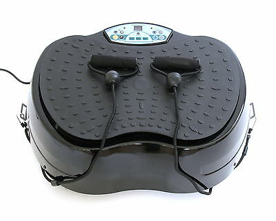 REBOXED Gym Master Crazy Fit Oscillating Vibration Power Plate BLACK SALE