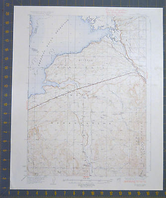 Fort Hall Indian Reservation Idaho 1937 Antique USGS Map Printed 1937 16x20