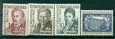 Personnages - Engineers Czechoslovakia 1957