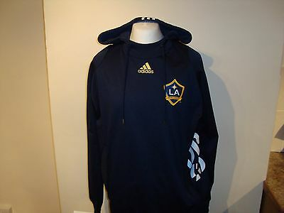 Rare LA Galaxy DB23 David Beckham Adidas Hoodie Hooded Track Top XL Mens