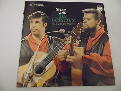 """These are .....The Corries . 12"""" 33rpm LP Record . FOLK . Philips records ."""