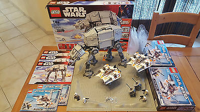 3 Lego Star Wars 10178 (X1) + 4500 (X2), Boites Notices 100% Complet, Comme Neuf