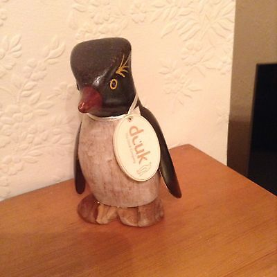 Small Wooden Penguin