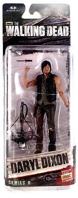 WALKING DEAD TV Version Series 6 DARYL DIXON EXCLUSIVE 13cm Figur NEU+OVP The