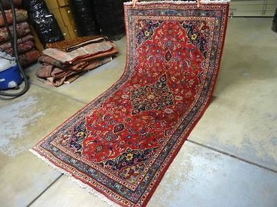 Exquisite Kashan Antique Hand Made Rug - 6x3 - The real deal!