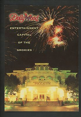 Amusement Park postcard Pigeon Forge Tennessee TN Dollywood Showstreet fireworks