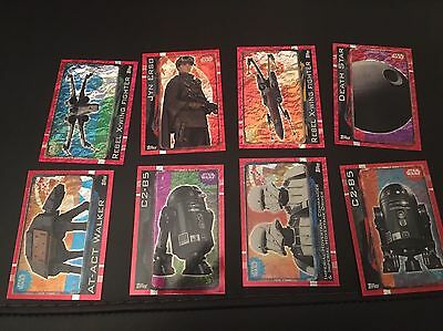 Star Wars - Rogue One Hologram Trading Cards - New
