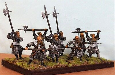 Warhammer lotr metal, painted  Axemen, of Lossnarch