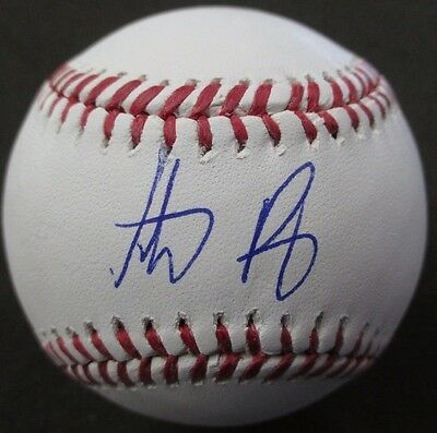 Anthony Rizzo Chicago Cubs Autographed Mint Official Ml Baseball Mlb Hologram