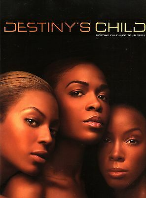 Beyonce / Destiny's Child 2005 Tour Concert Program / Near Mint 2 Mint