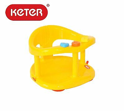KETER Baby Bath Tub Ring Seat Safety Anti Slip - Green New ✰Free Shipping✰