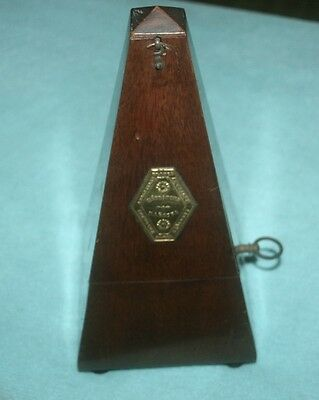 vintage metronome paquet de maelzel ..very rare 973.673 .. only seen in auctions