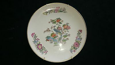 "wedgewood 9"" bone china plate kutani crane"