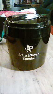 Vintage John Players Special Cigarettes Advertising Ice Bucket Pub Home Bar